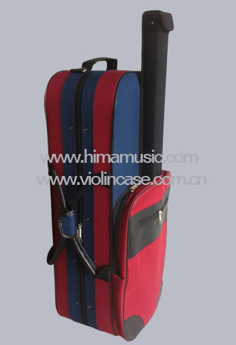 G-2020V Foamed double violin case