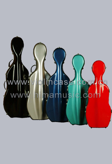 G-1012C Fiberglass cello case